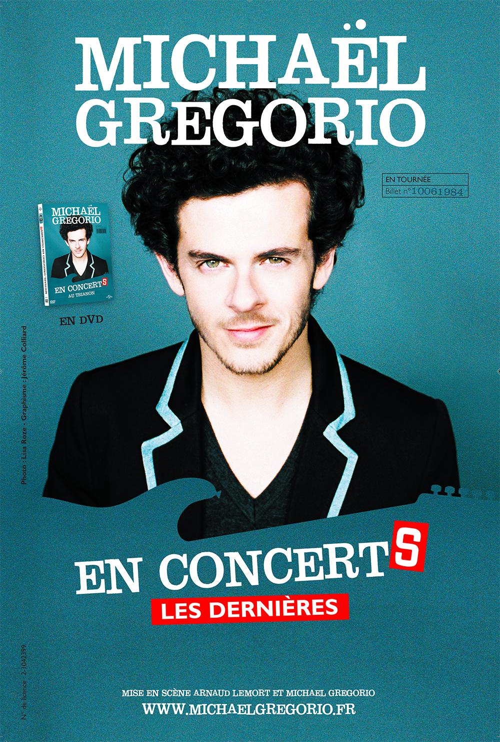 site Internet Michaël Gregorio